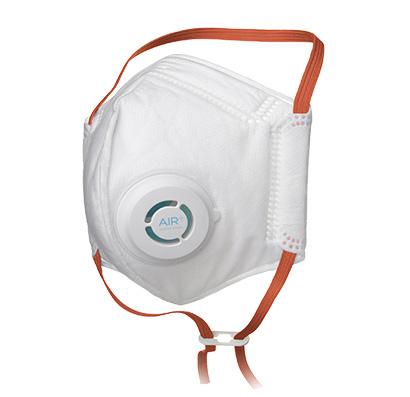AIR+ mondmasker FFP3 stof en adembescherming met ventiel ventilator (4)