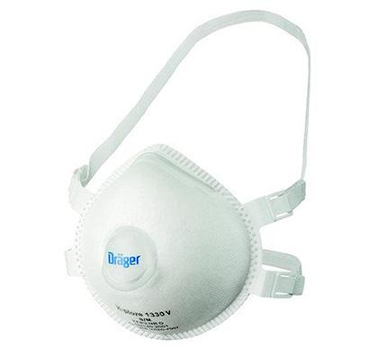 Drager X-plore 1330 mondmasker stofkapje (FFP3) (1)