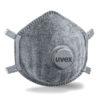 Uvex silv-Air Pro 7310 - ffp3 mondmasker stof kapje