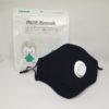 PM2.5 Mondmasker kopen Zwart katoen herbruikbaar uitademventiel FFP 2 Filters