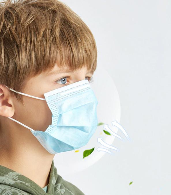 3-laags-wegwerpmasker-kinderen-blauw-mondmaskertje