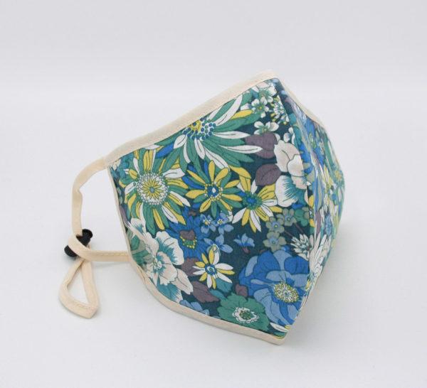 soto mondmasker van katoen met bloemenprent mondmaskertje (5)