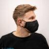 mondmasker zwart katoen met filters (3)