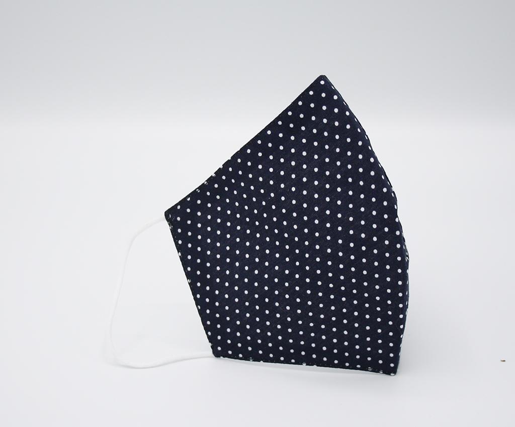 FASHION Mondmaskertje.nl wit blauw patroon stijvol mondmasker mondkapje (4)