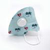 Mondmasker voor kinderen met ventiel blauw