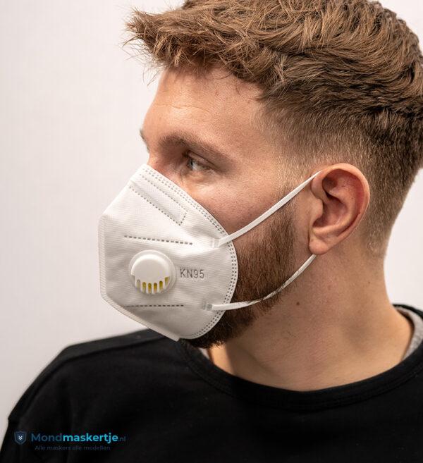 kn95 mondmasker wit met ventiel (3)