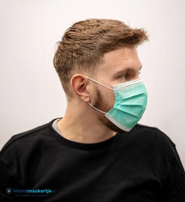 mondmasker wegwerpmasker groen (3)