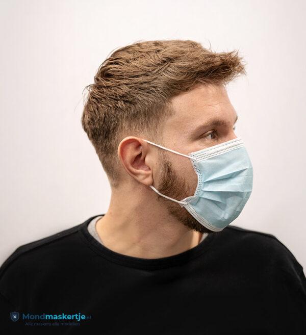 mondmaskertje wegwerpmasker blauw mondkapje (3)