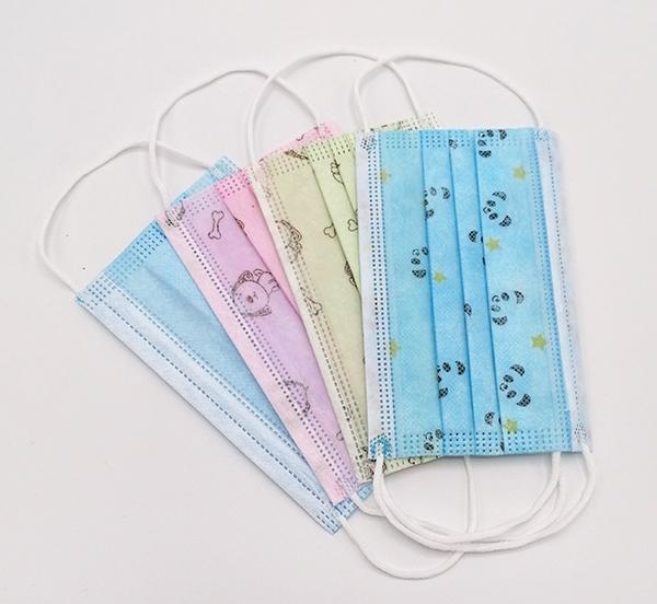 wegwerp mondmasker voor kinderen blauw mondmaskertje (1)