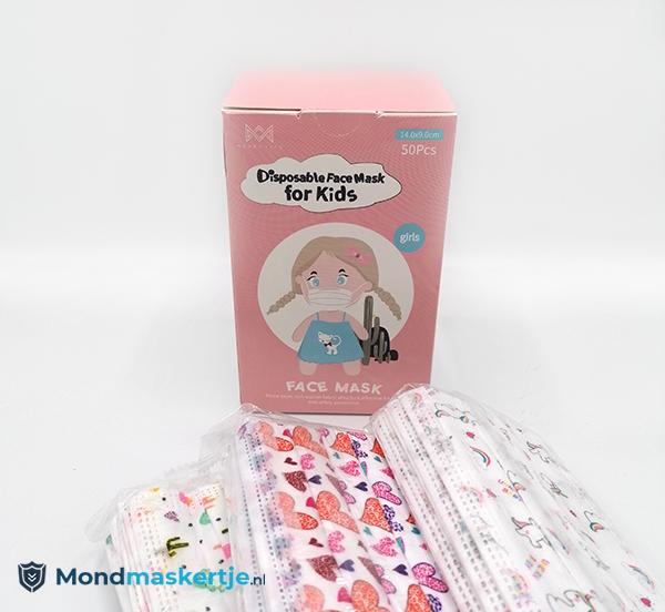 Merrylife mondmasker roze