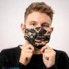 Mondmasker Army Jungle Groen Katoen (4)