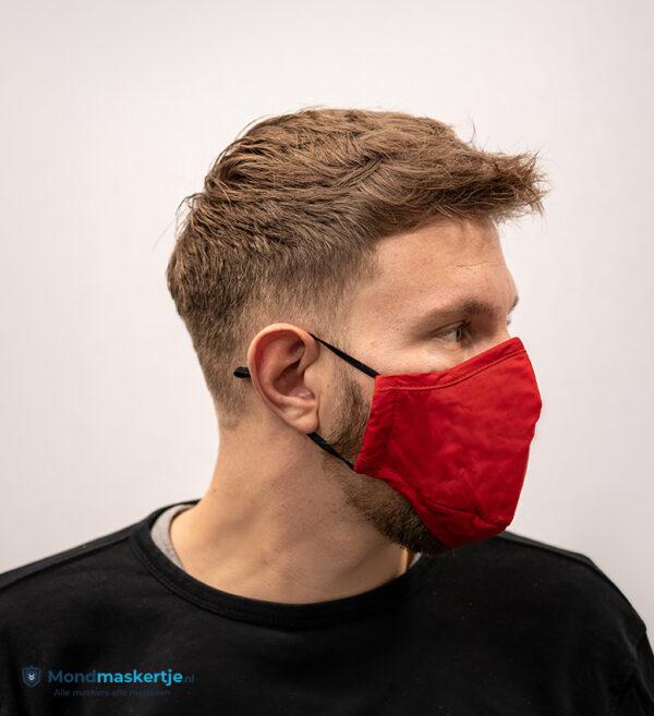 mondmasker rood katoen met pm2.5 filter (1)