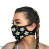 mondkapje vrouwen dames zwart mondmasker