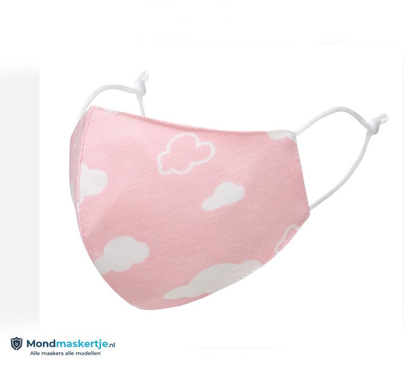 mondmasker voor kinderen roze